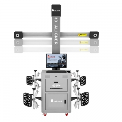 Muti-Station Automatic Tracking 3D Wheel Aligner