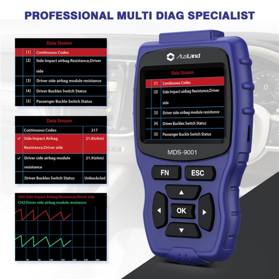 Prefessional Diagnostic Scan Tool