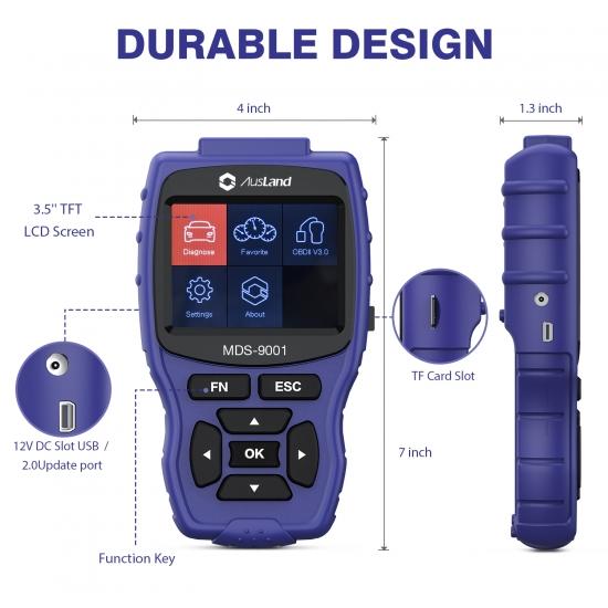 Professional OBD2 Scanner tool For Honda MDS9001 Car Diagnostic code