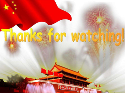 Notification about the Chinese National Day